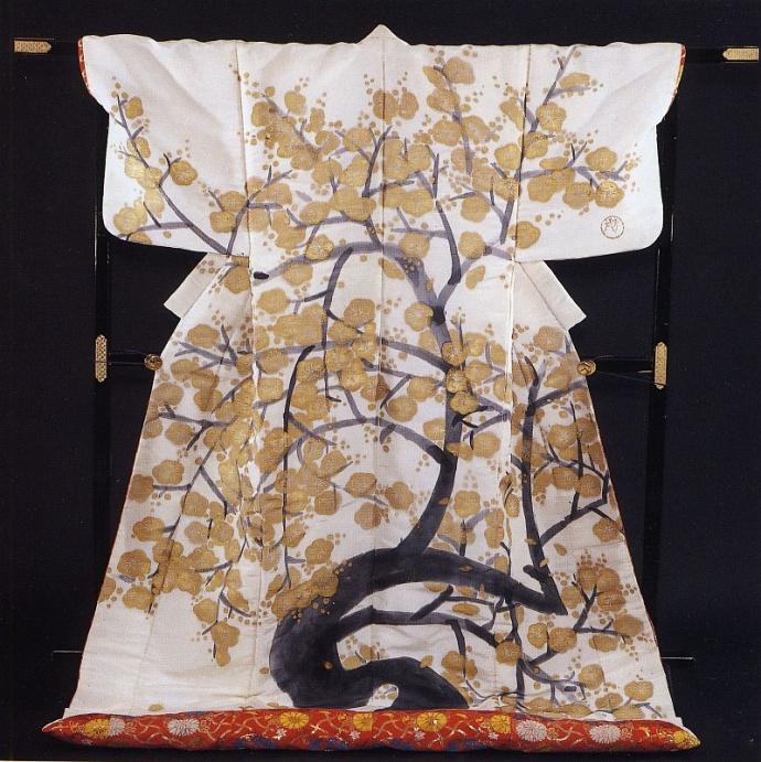 +Kimono Agemaki no Uchikake von Houshun Maeda, April 1958,.jpg
