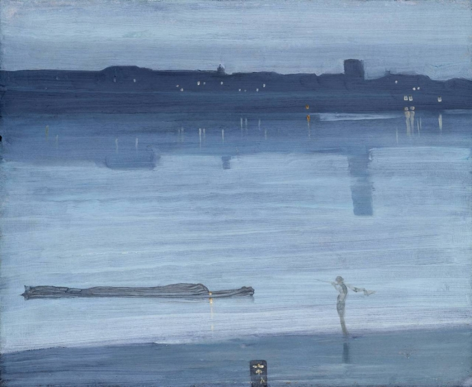 ++1055 James Abbott McNeill Whistler  Nocturne Blue and Silver - Chelsea, 1871.jpg