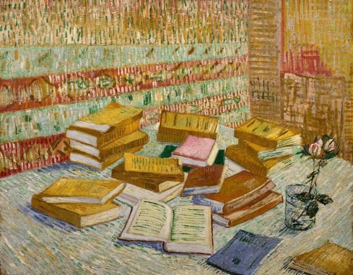 + 2808 Vincent van Gogh The Yellow Books, 1887.jpg