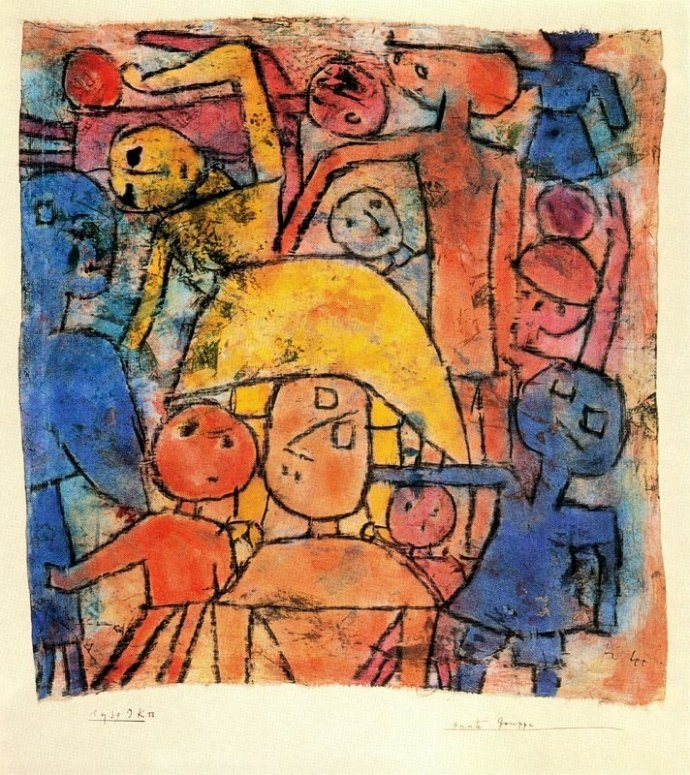 +1048 Paul Klee  Colourful Group 1939.jpg