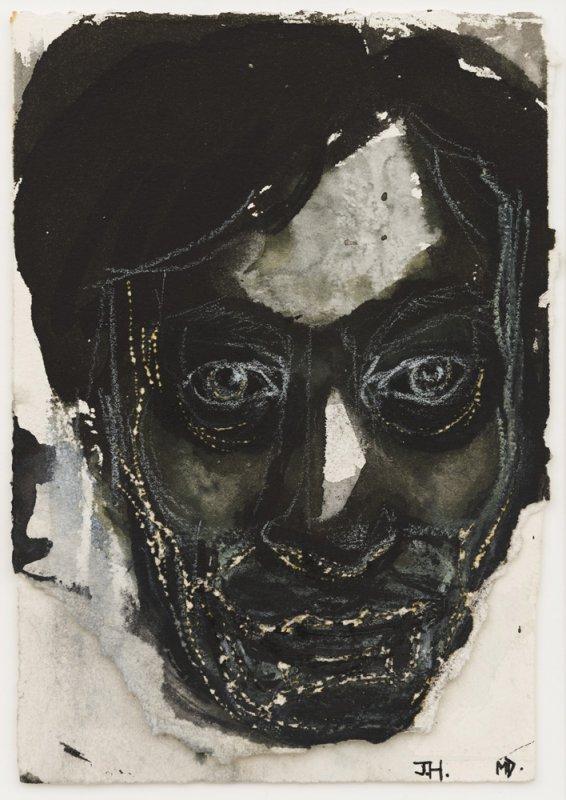 +2620 Marlene Dumas  Portret voor JH, 1992.jpg