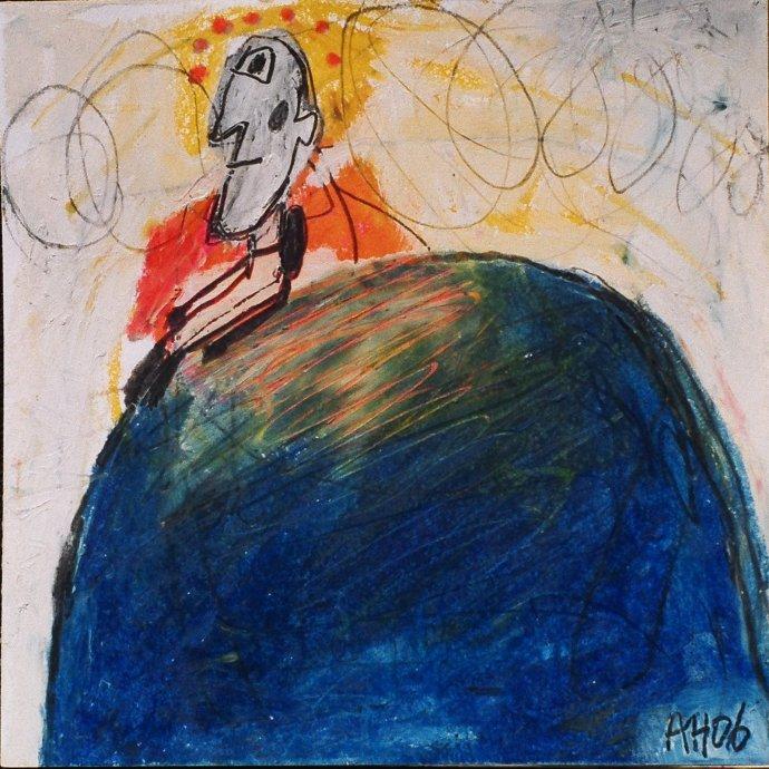 +872Alexandra Huber Man on blue world 2006.jpg