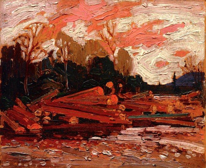 +1541 Abandoned Logs Tom Thomson - 1915.jpg