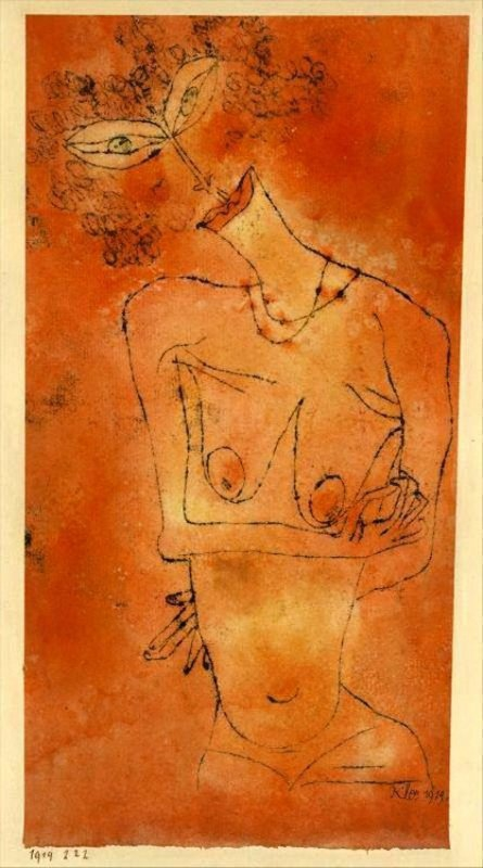 +2371 Paul Klee Lady Inclining Her Head.jpg