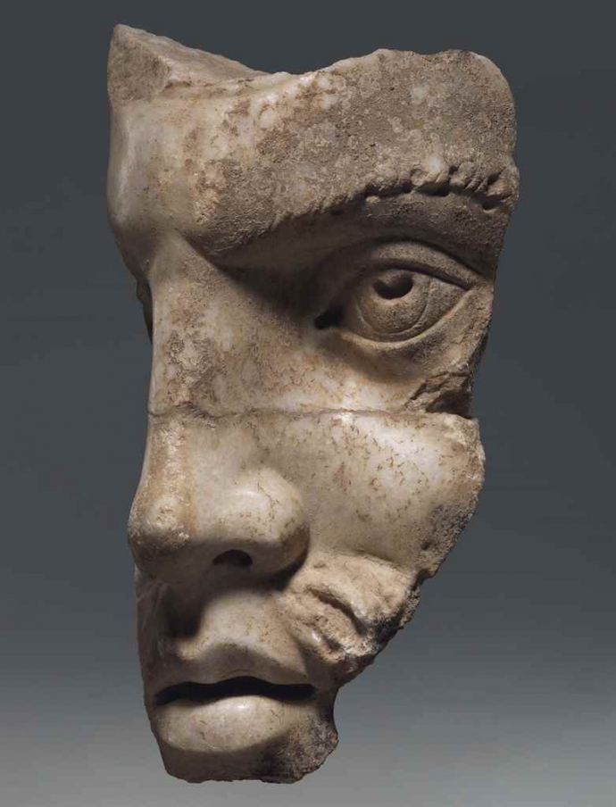 +5A Roman Acroterion Fragment  circa 2nd-3rd Century A.D.jpg