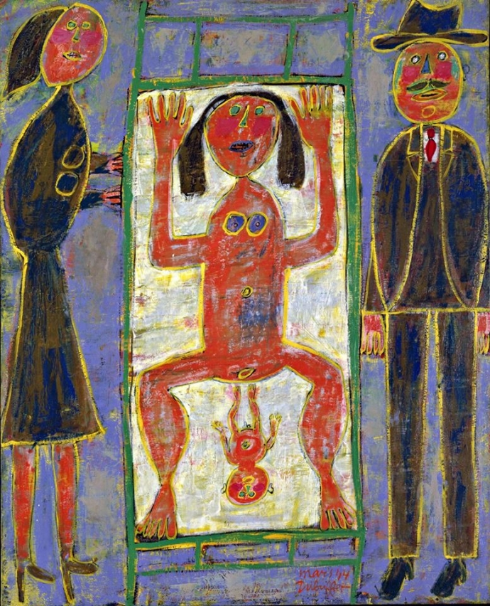 ++1363 Jean Dubuffet (1901‑1985) Childbirth, 1944..jpg