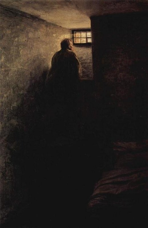 626 Nikolai Yaroshenko  The Prisoner - 1878.jpg