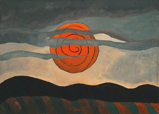+7Arthur Dove, Red sun.jpg