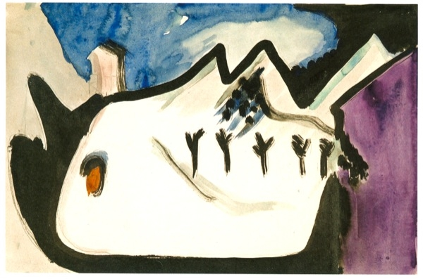 +2741 Ernst Ludwig Kirchner  Snowy Landscape, 1930.jpg