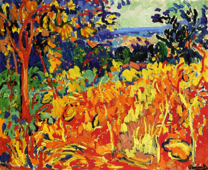 ++1610 Maurice de Vlaminck, The Orchard, 1905.jpg