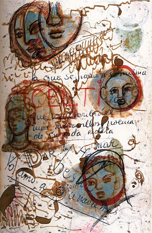 +753 Frida Kahlo A page of her diary  1953.jpg