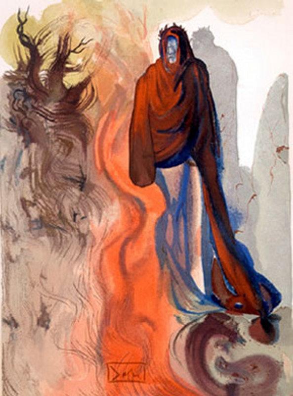 145 Salvador Dali  Canto 16 Dante divine comédie.jpg