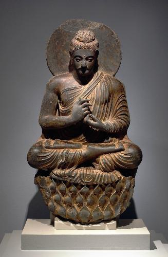 913 Buddha, Northwest India, Kushan Period, 2nd-3rd century.jpg