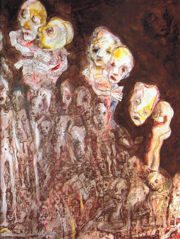 695b Ghislaine Le charnier de la tendresse détail  2011 art brut.jpg