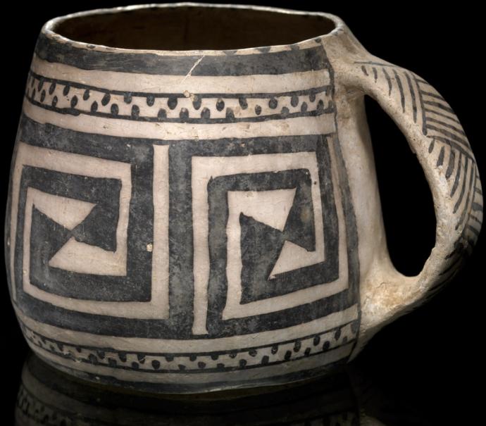 930 Culture pueblo Ancestral Pueblo mug ca. AD 1200 Cliff Palace, Mesa Verde, Colorado.jpg