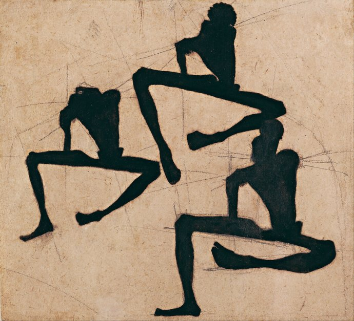 738 Egon Schiele , Composition with Three Male Nudes, 1910.jpg