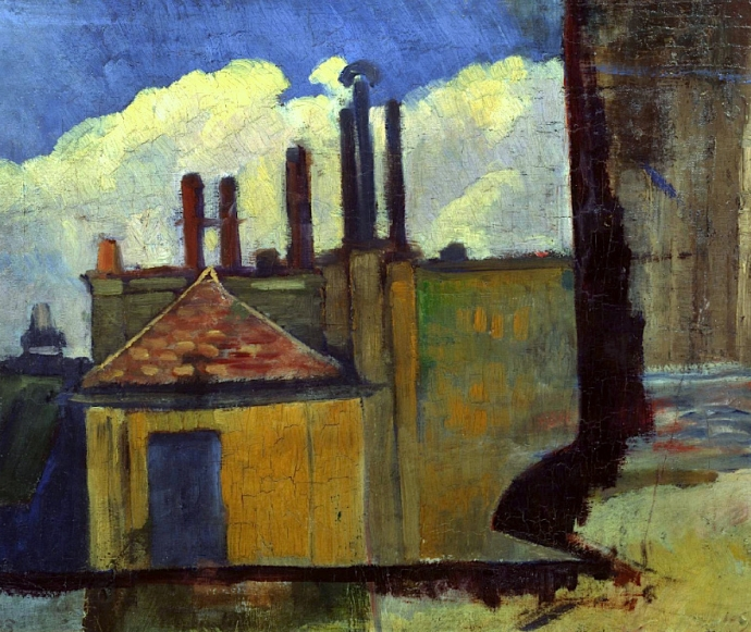 +21Paul Serusier Roof Tops in Paris.jpg