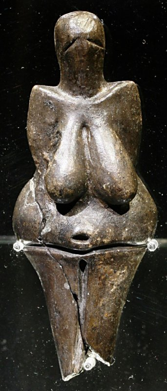 +814Venus of Dolni Vestonice 29 000 – 25 000 BP (Gravettian industry), Moravian basin south of Brno..jpg