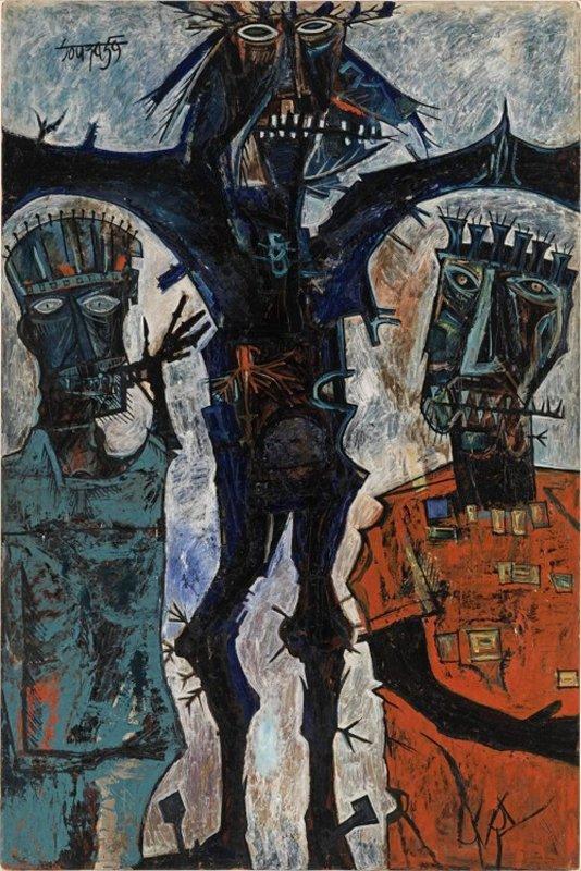 +1996 F.N. Souza Crucifixion 1959.jpg