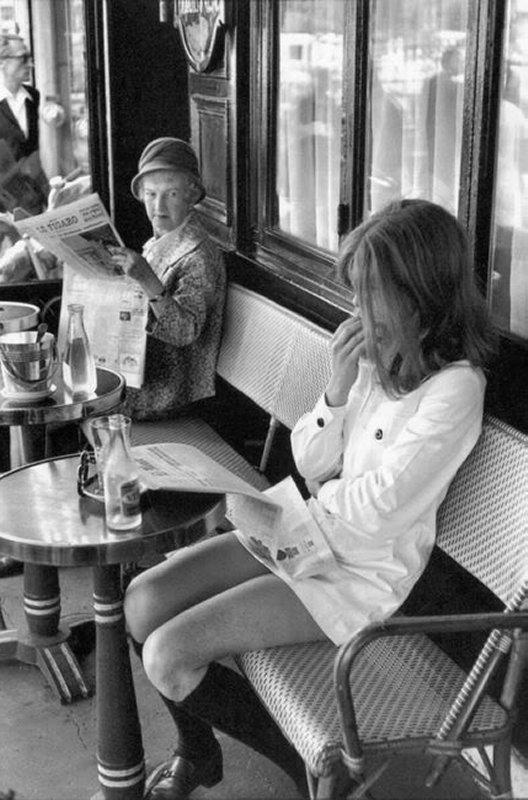 +++Henri Cartier Bresson brasserie Lipp Paris 1969.jpg