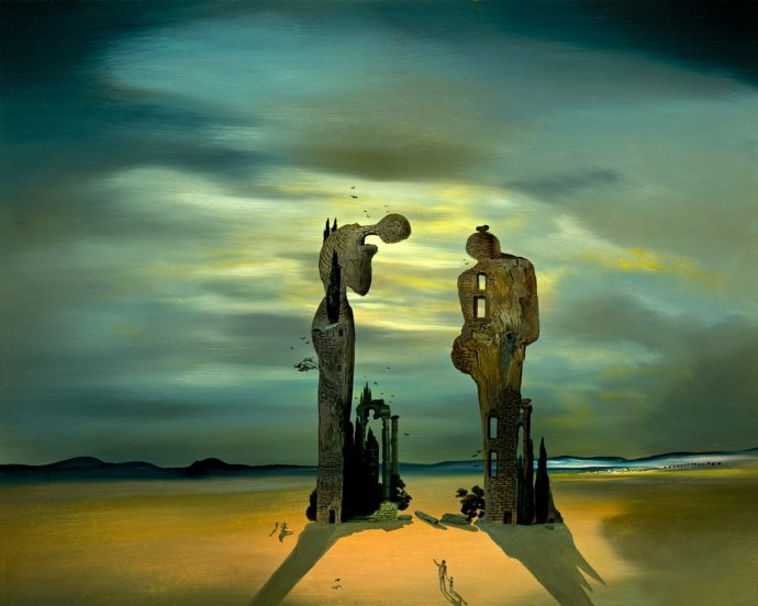 "+893 Salvador Dali  Archeological Reminiscence of Millet's ""Angelus"", 1933-35.jpg"