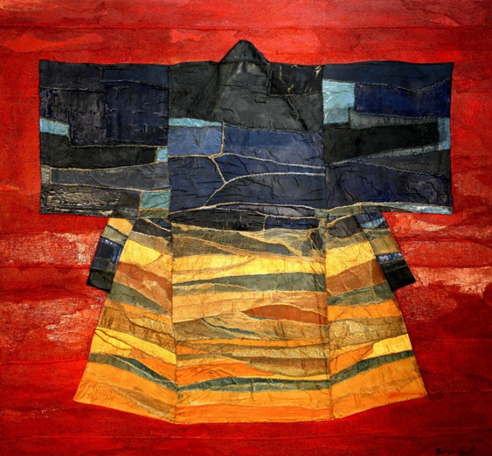 +++ An antique Kimono transformed into a splendid painting by Fabrizio Onali.jpg