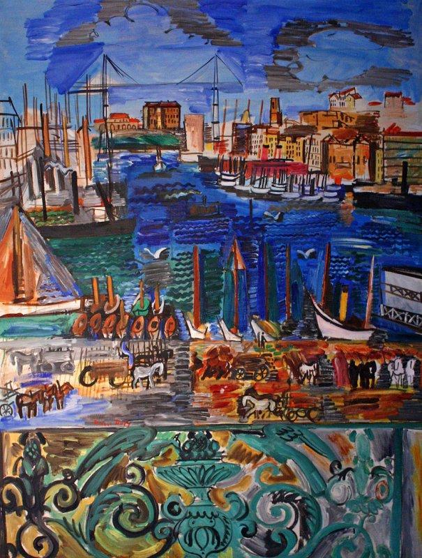 +2657b Raoul Dufy  Vue de Marseille (1925).jpg