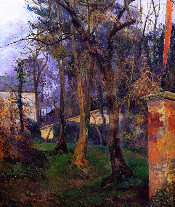 965 Paul Gauguin le jardin abandonné à Rouen 1884.jpg