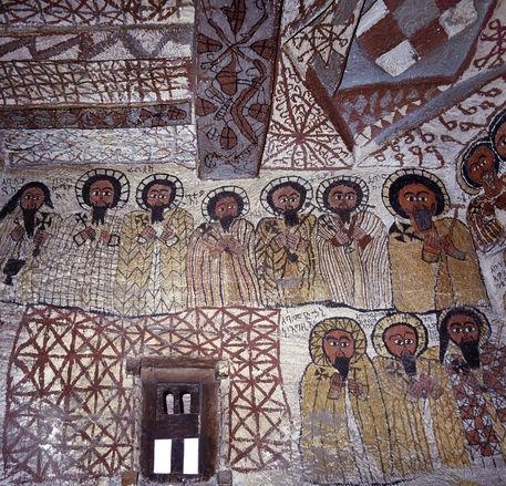 +903 église Yohannes Maequddi  Fresque  Gheralta Mountains Tigray Ethiopie.jpg