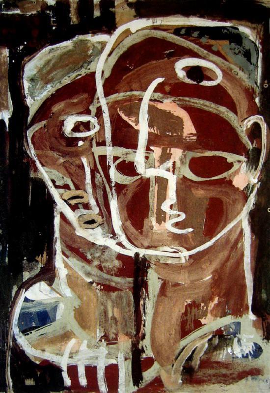 +++Ian Fairweather  Two Heads, 1955.jpg