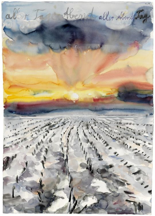 +++ Anselm Kiefer  The Evening of All Days, the Day of All Evenings  2014.jpg