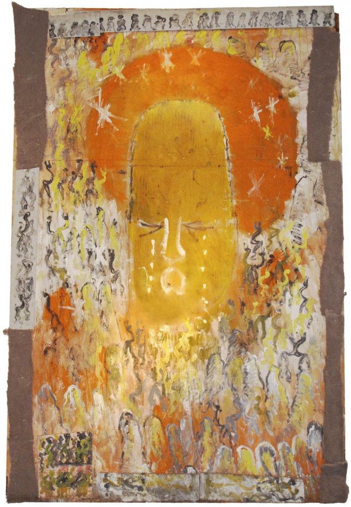 +833 Purvis Young Crying Angel, c.1994.jpg