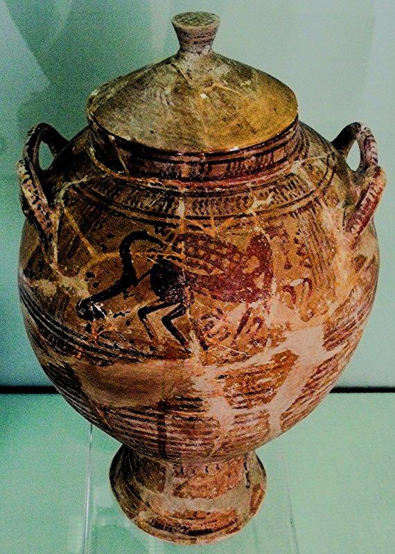 673 Amphore archaïque VIIe siècle av. J.-C., Provenance Béotie ou Eubée.jpg