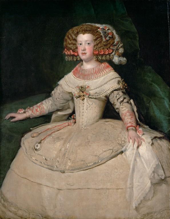 ++1901 Diego Velazquez l'infante Marie Thérèse  1652-1653.jpg