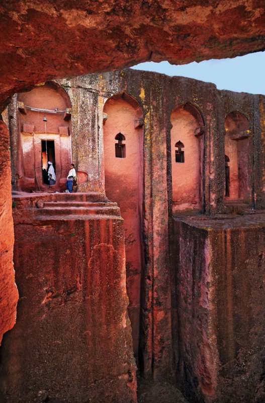 584 Lalibela, Ethiopia's rock-hewn Bet Gabriel-Rufael church.jpg