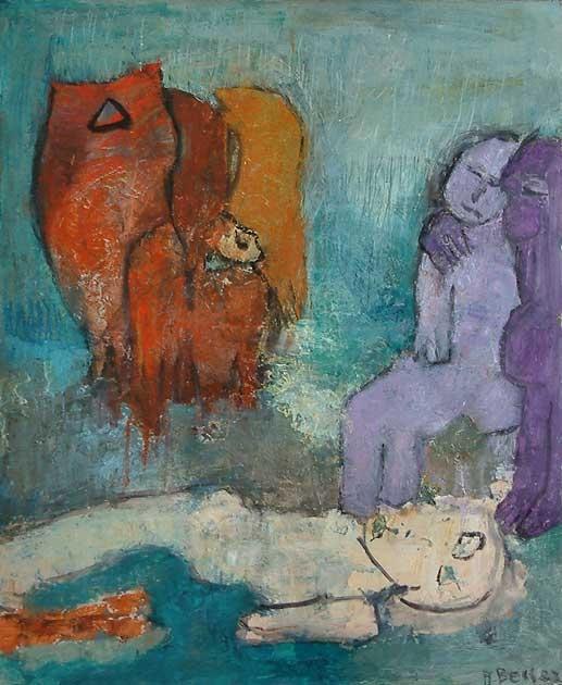 966 Adèle Besser  La mort c.1980.jpg